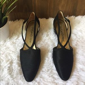 Yves Saint Laurent Shoes Black